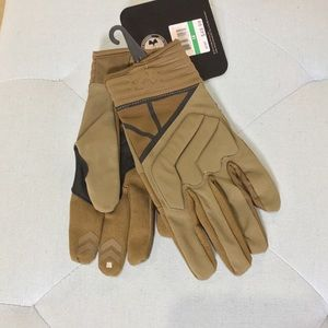 Under Armour utility gloves tan outdoor gloves